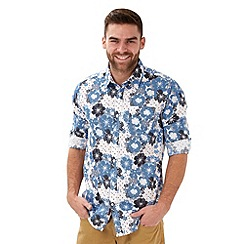 Joe Browns - Blue fabulous floral shirt