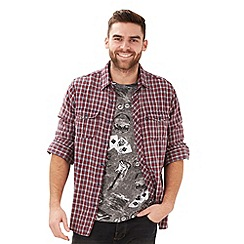 Joe Browns - Grey grunge check shirt