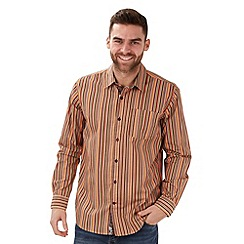 Joe Browns - Orange sizzling stripe shirt