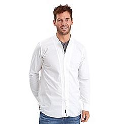 Joe Browns - White double your dollar grandad shirt