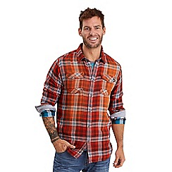 Joe Browns - Multi coloured two way check shirt