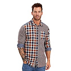 Joe Browns - Multi coloured mix it up check shirt