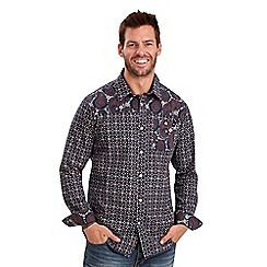 Joe Browns - Multi coloured mix it up paisley shirt