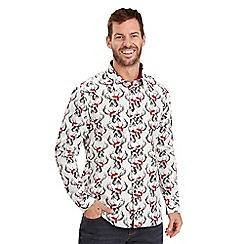 Joe Browns - White stag shirt