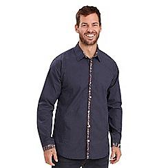 Joe Browns - Navy contrast placket shirt