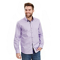 Joe Browns - Lilac distinctive double collar shirt