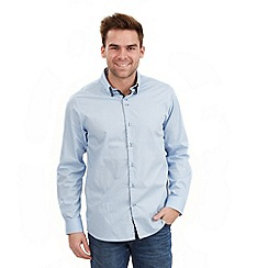 Joe Browns - Blue distinctive double collar shirt