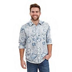 Joe Browns - Multi coloured wave shirt