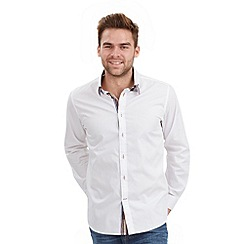 Joe Browns - White crazy collar shirt