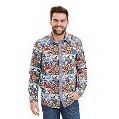 Joe Browns - Multi coloured oriental bird shirt