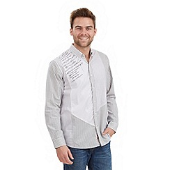 Joe Browns - White mix and match bib shirt