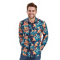 Joe Browns - Multi coloured summer leaf shirt