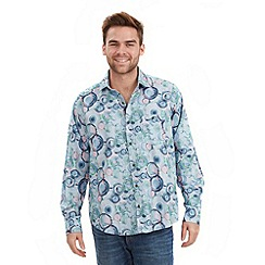 Joe Browns - Blue swanky swirl shirt