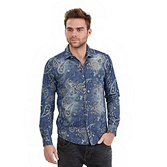 Joe Browns - Blue distinctive denim shirt