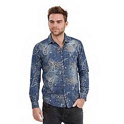 Joe Browns - Blue distinctive denim shirt