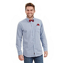 Joe Browns - Pale blue delightful dicky bow shirt