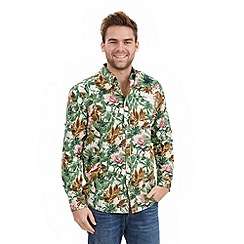 Joe Browns - Multi coloured pink parrot shirt