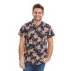 Joe Browns - Black funky floral shirt