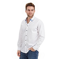 Joe Browns - White savy stitch collar shirt
