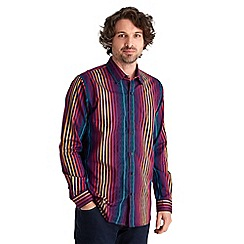 Joe Browns - Multi coloured statement stripe shirt