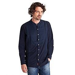 Joe Browns - Navy understated grandad shirt