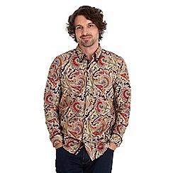 Joe Browns - Multi coloured double collar paisley shirt