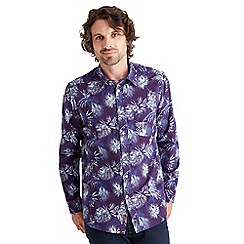 Joe Browns - Multi coloured palm print shirt