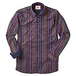 Joe Browns - Multi coloured party stripe shirt