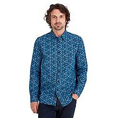 Joe Browns - Turquoise kaleidoscope print shirt