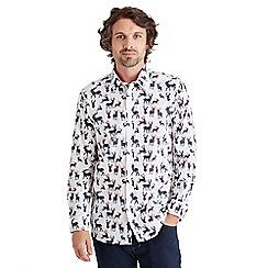 Joe Browns - White all over christmas shirt