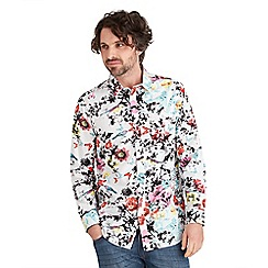 Joe Browns - Multi coloured splash of colour shirt