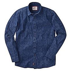 Joe Browns - Blue paisley denim shirt