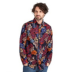 Joe Browns - Multi coloured beautifully balanced floral shirt