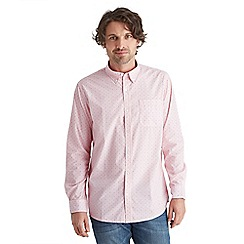 Joe Browns - Pale pink subtle spot shirt