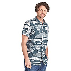 Joe Browns - Multi coloured grey scale tropics shirt