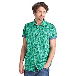 Joe Browns - Multi coloured sketchy leaf shirt