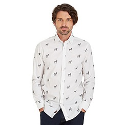 Joe Browns - White sensational zebra shirt