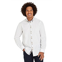 Joe Browns - White cool collar shirt