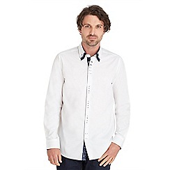 Joe Browns - White triple collar shirt