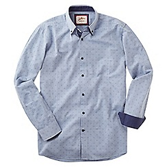 Joe Browns - Light blue delightful double collar shirt