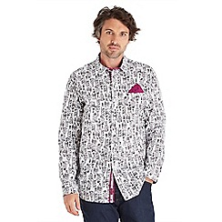 Joe Browns - White high spirits funky shirt