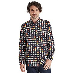 Joe Browns - Black guitar plectrum shirt