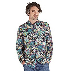 Joe Browns - Purple party paisley shirt