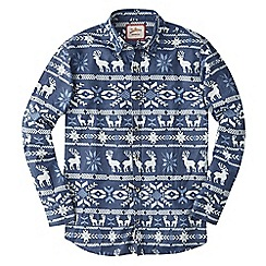 Joe Browns - Blue in the spirit christmas shirt