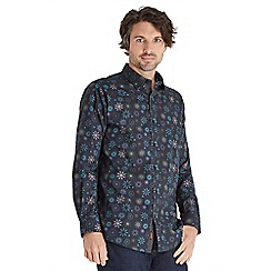 Joe Browns - Dark blue in the mood patterned shirt