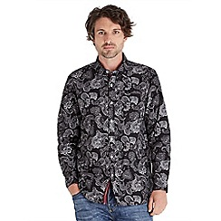 Joe Browns - Black easy going paisley shirt