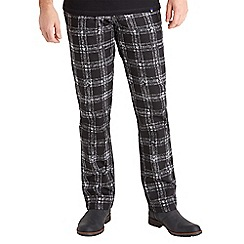 Joe Browns - Black easy check trousers