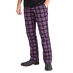 Joe Browns - Purple easy check trousers