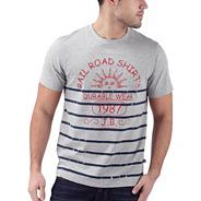 Light grey railroad t-shirt