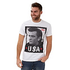 Joe Browns - White love the legends t shirt
